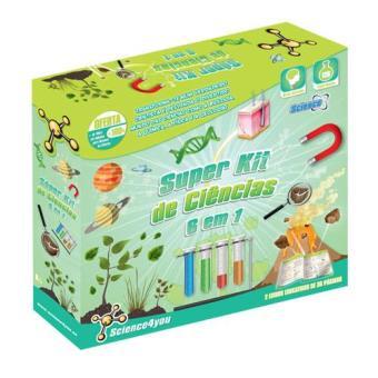 Super Kit de Ciências 6 em 1