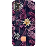 Capa Happy Plugs para iPhone XS | iPhone X - Hawaiian Nights