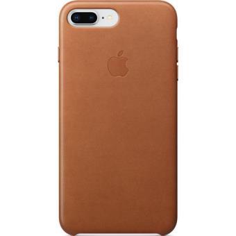 Capa Pele Apple para iPhone 8 Plus | 7 Plus - Castanho Sela