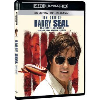 Barry Seal: Traficante Americano (4K Ultra HD + Blu-ray)