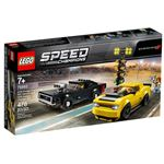 LEGO Speed Champions 75893 - 2018 Dodge Challenger SRT Demon e 1970 Dodge Charger R/T