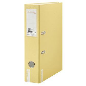 Dossier 2 Argolas Ancor Emboss Soft Colours A4 Amarelo