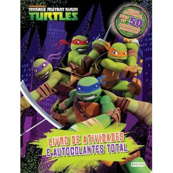 Tartarugas Ninja Livro De Atividade Nickelodeon Compra
