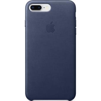 Capa Pele Apple para iPhone 8 Plus | 7 Plus - Azul Meia Noite