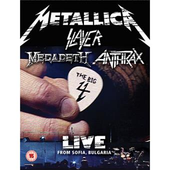 The Big Four: Live From Sonisphere (2DVD)