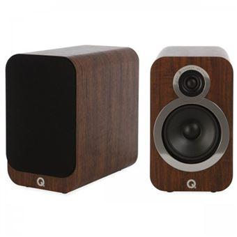 Colunas Q Acoustics 3020I - Nogueira