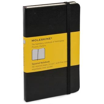 Moleskine: Caderno Quadriculado Bolso Preto