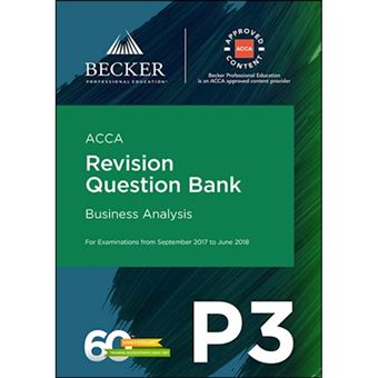 Acca approved - p3 business analysi
