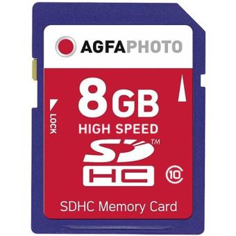 AGFA SDHC 8GB High Speed Class10