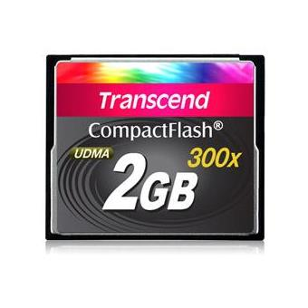 Transcend CompactFlash 2GB 300X
