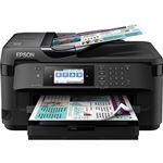 Impressora Multifunções Epson WorkForce WF-7710DWF - Preto