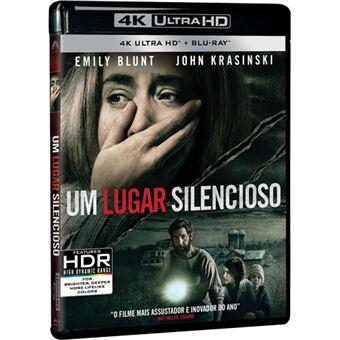 Um Lugar Silencioso - 4K Ultra HD + Blu-ray