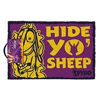 Tapete de Porta Spyro - Hide Yo Sheep