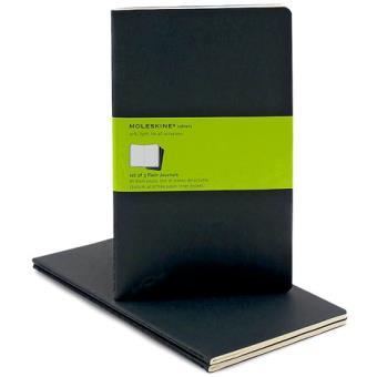 Moleskine: Caderno Liso Grande Preto
