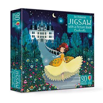 Cinderella (jigsaw & book)