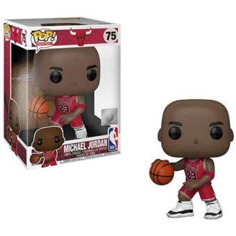 Peaje Escarpa Delgado  Funko Pop! NBA Chicago Bulls: Michael Jordan Super Size - 75 ...