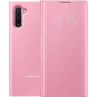Capa Samsung LED View para Galaxy Note10 - Rosa