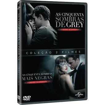 Pack As Cinquenta Sombras de Grey + As Cinquenta Sombras Mais Negras (DVD)