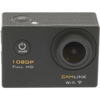 Action Cam Camlink Full HD Wi-Fi - Preto