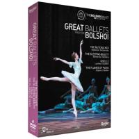 Great Ballets from the Bolshoi (4DVD)