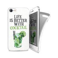 Capa Ipaint para iPhone 7 - Cocktail