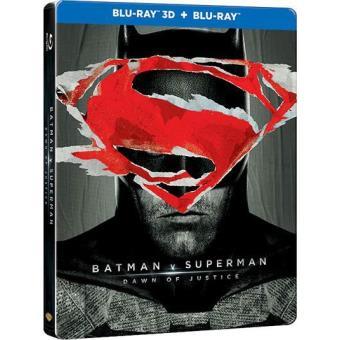Batman v Super-Homem: O Despertar da Justiça - Edição Steelbook (Blu-ray 3D + 2D)