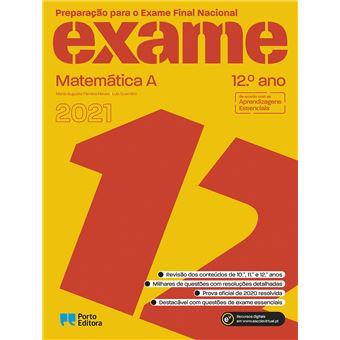 Preparação Para o Exame Final Nacional - Matemática A 12º Ano 2019