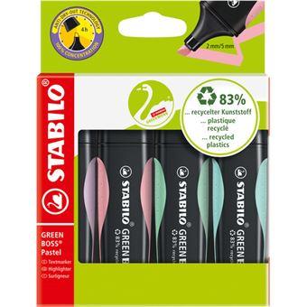 Marcadores Fluorescentes Stabilo Pastel - 4 Unidades