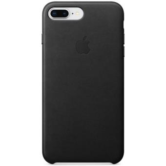 Capa Pele Apple para iPhone 8 Plus | 7 Plus - Preto