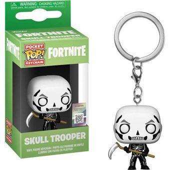 Funko Pop! Porta-Chaves Fortnite: Skull Trooper