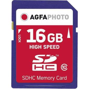AGFA SDHC 16GB High Speed Class10
