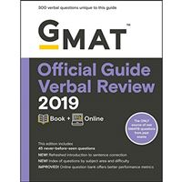 GMAT Official Guide Verbal Review 2019 : Book + Online