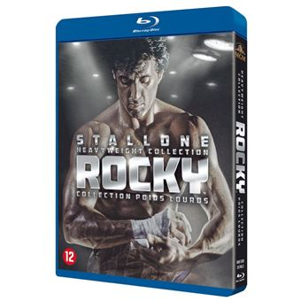 Rocky - Heavyweight Collection - Blu-ray - Importação