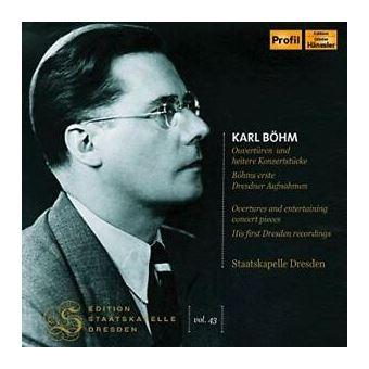 Edition Staatskapelle Dresden Vol. 43: Karl Böhm - 2CD