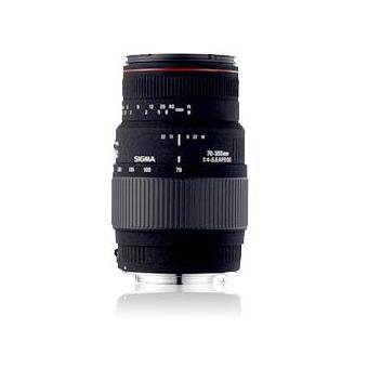 Sigma Objetiva 70-300mm F4-5.6 APO DG Macro (Canon)