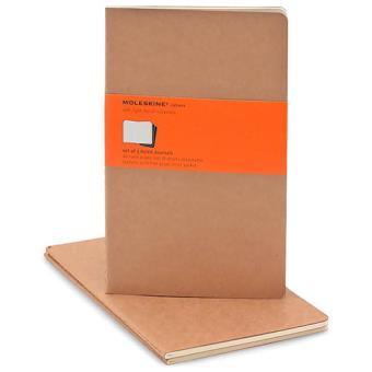 Moleskine: Caderno Pautado Grande Bege