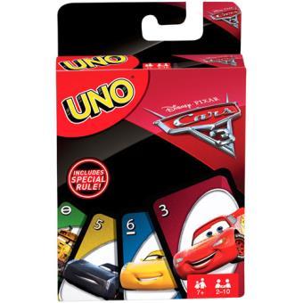 UNO Disney Cars 3 - Mattel