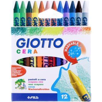 Caixa 12 Lápis de Cera Giotto
