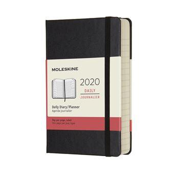 Agenda Diária 12 Meses 2020 Moleskine Bolso