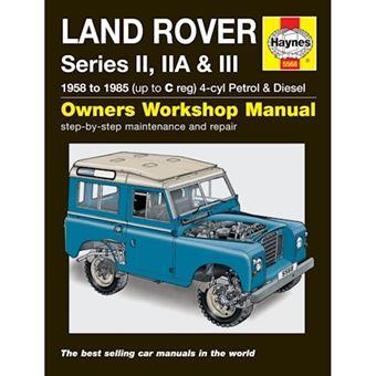 Land rover series ii, iia and iii p