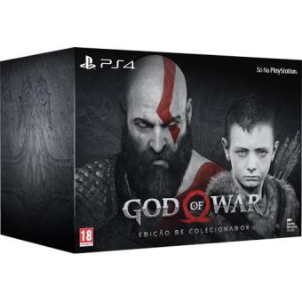 God of War Edição de Colecionador PS4