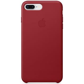 Capa Pele Apple para iPhone 8 Plus | 7 Plus - Vermelho