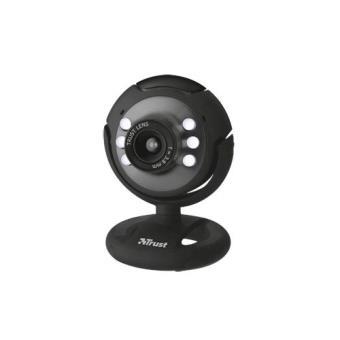 Trust Spotlight Webcam 640 x 480pixels USB 2.0 Preto webcam