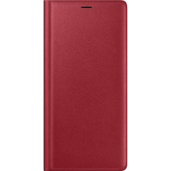 Capa Samsung Leather View para Galaxy Note9 - Vermelho