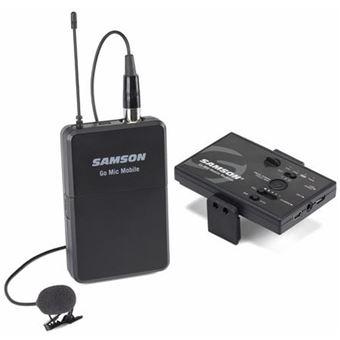 Microfone de Lapela Sem Fios Samson Go Mic Mobile