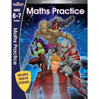 Guardians of the galaxy: maths prac