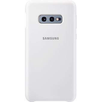 Capa Samsung Silicone para Galaxy S10e - Branco