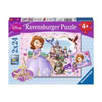 Puzzle Princesa Sofia 2 X 24 Peças