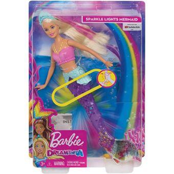 Barbie Sereia Nadadora Dreamtopia - Mattel