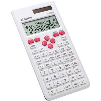 Calculadora Científica Canon F-715SG - Branco | Rosa